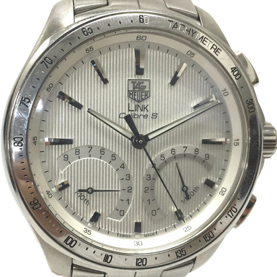 """Image of """"Tag Heuer Link Cat7011 Chronograph Stainless Steel Quartz 42mm Mens"""""""