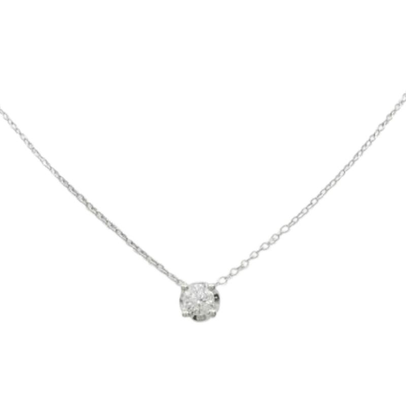 "Image of ""Bulgari 18K White Gold Corona 0.30ct. Diamond Necklace"""
