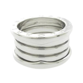 Bulgari B. Zero 1 18K White Gold Band Ring Size 5.5