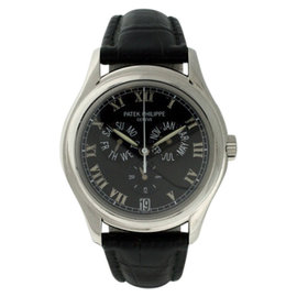Patek Philippe 5035P Platinum Annual Calendar Automatic 37mm Mens Watch