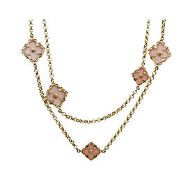 Buccellati 18K Yellow Gold Opal Opera Necklace