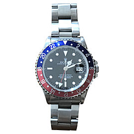 Rolex Pepsi GMT Master II 16710 Stainless Steel 40mm Watch