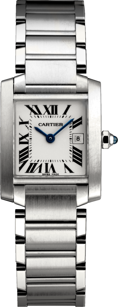 "Image of ""Cartier Tank Francaise W51011Q3 Stainless Steel 30.4mm Watch"""