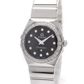 Omega Constellation 123.15.24.60.51.002 Stainless Steel with Diamond 23 mm Womens Watch