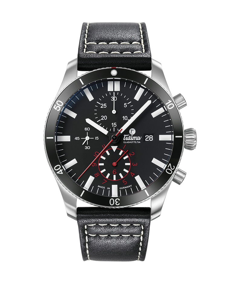 "Image of ""Grand Flieger Chronograph Watch"""