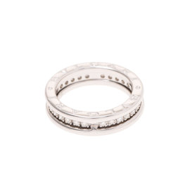 Bulgari B-Zero1 18K White Gold Ring Size 5