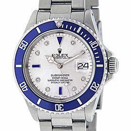 Rolex Submariner Stainless Steel Diamond & Sapphire 40mm Watch