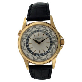 Patek Philippe World Time 5110J 18K Yellow Gold Watch
