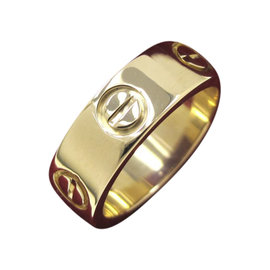 Cartier Love 18K Yellow Gold Ring Size 3.75