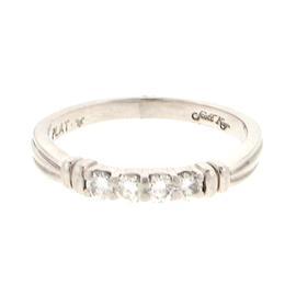 Scott Kay Platinum 0.25 Ct Diamond Wedding Band Engagement Ring Size 7.25