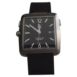 Tag Heuer WAE1116 Monaco Golf Black Rubber Band 36 mm Mens Watch