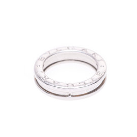 Bulgari B-Zero1 18K White Gold Ring Size 5