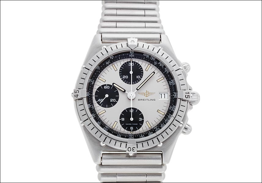 "Image of ""Breitling Chronomat 81.950 Stainless Steel Automatic 40mm Mens Watch"""