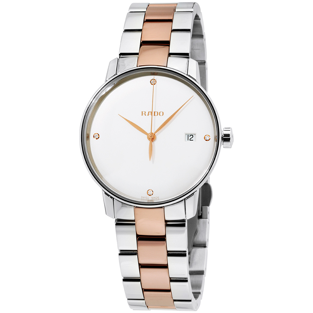 """Image of """"Rado Coupole Classic R22864722 Rose Gold Tone Stainless Steel with"""""""
