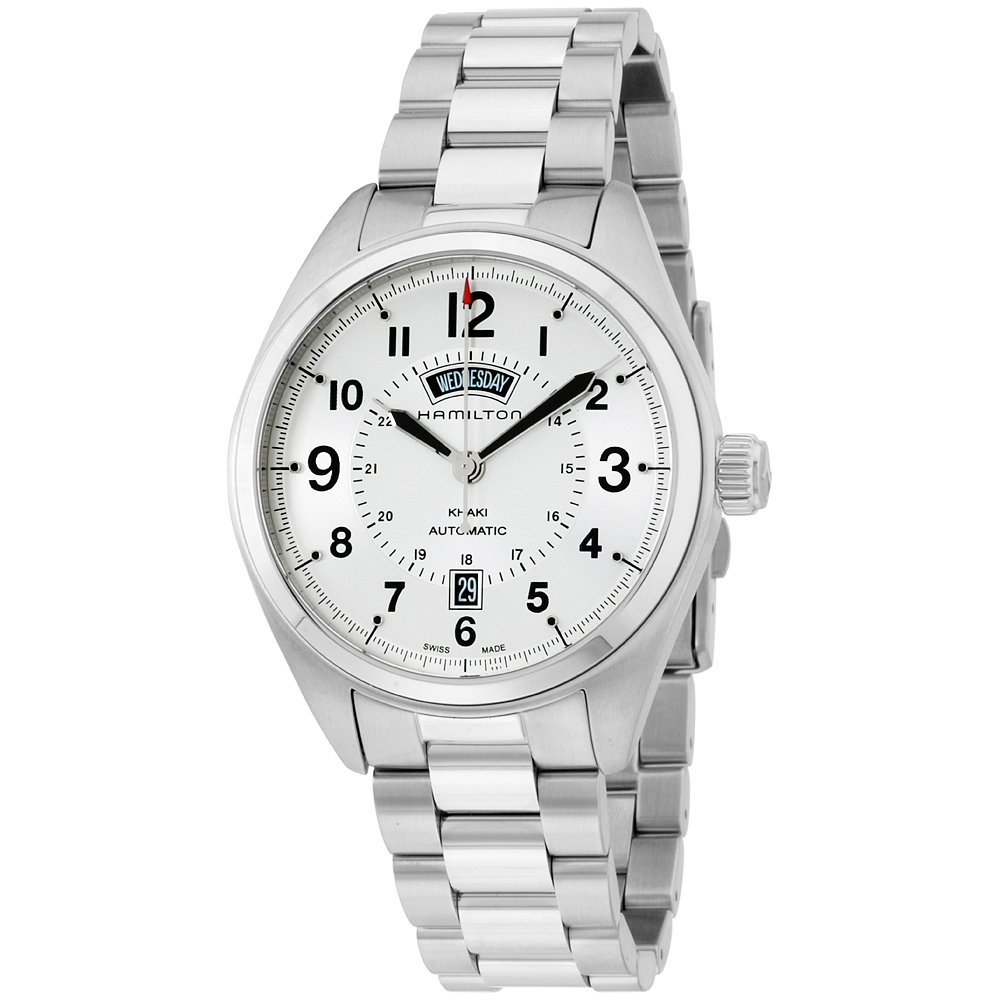 """Image of """"Hamilton Khaki Field H70505153 Stainless Steel Silver Analog Automatic"""""""