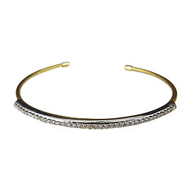 I. Reiss 14K Yellow Gold & Diamond Bangle Bracelet