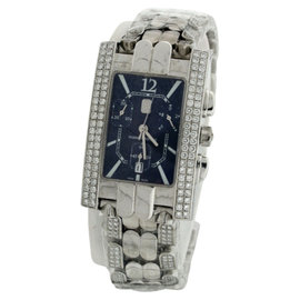 Harry Winston Avenue 18K White Gold 41mm Womens Watch