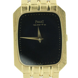 Piaget Protocol 18K Yellow Gold Ultra Thin Womens Watch