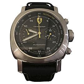 Panerai Ferrari FER00008 Stainless Steel & Leather 45mm Watch