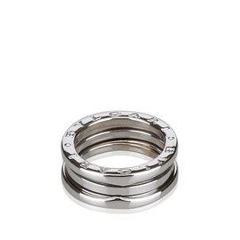 Bulgari B.zero1 White Gold Two Band Ring