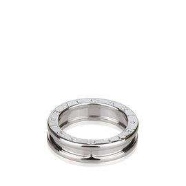 Bulgari B.zero1 White Gold Band Ring