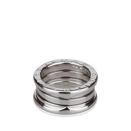 Bulgari B.zero1 White Gold Three Band Ring