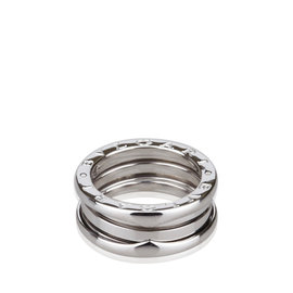 Bulgari B.zero1 White Gold Two Band Ring