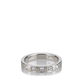Bulgari Platinum Marryme Diamond Wedding Band Ring
