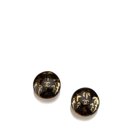 Chanel PVC Clip-On Earrings