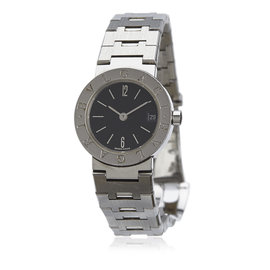 Bulgari Diagono Stainless Steel Womens Watch