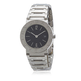 Bulgari Diagono Stainless Steel 20mm Womens Watch
