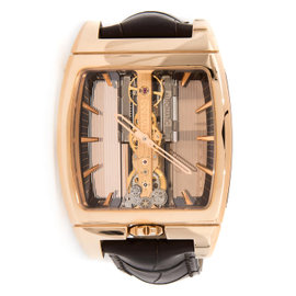 Corum 313.165.55/0002 Golden Bridge 18K Rose Gold Watch