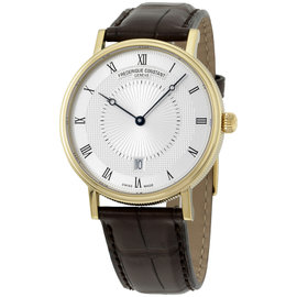 Frederique Constant Slimline FC306MC4S35 Gold Tone Stainless Steel Automatic 39mm Mens Watch