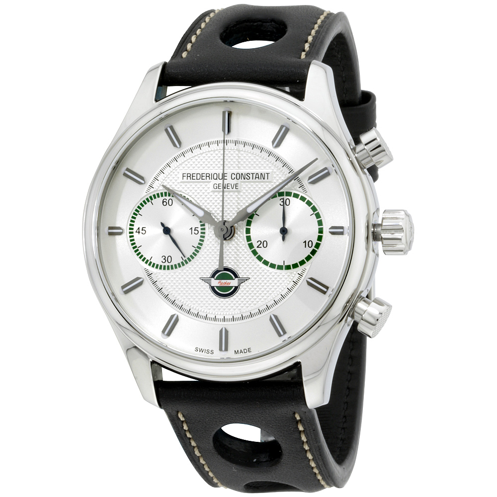 """Image of """"Frederique Constant Fc-397Hs5B6 Stainless Steel 42mm Mens Watch"""""""