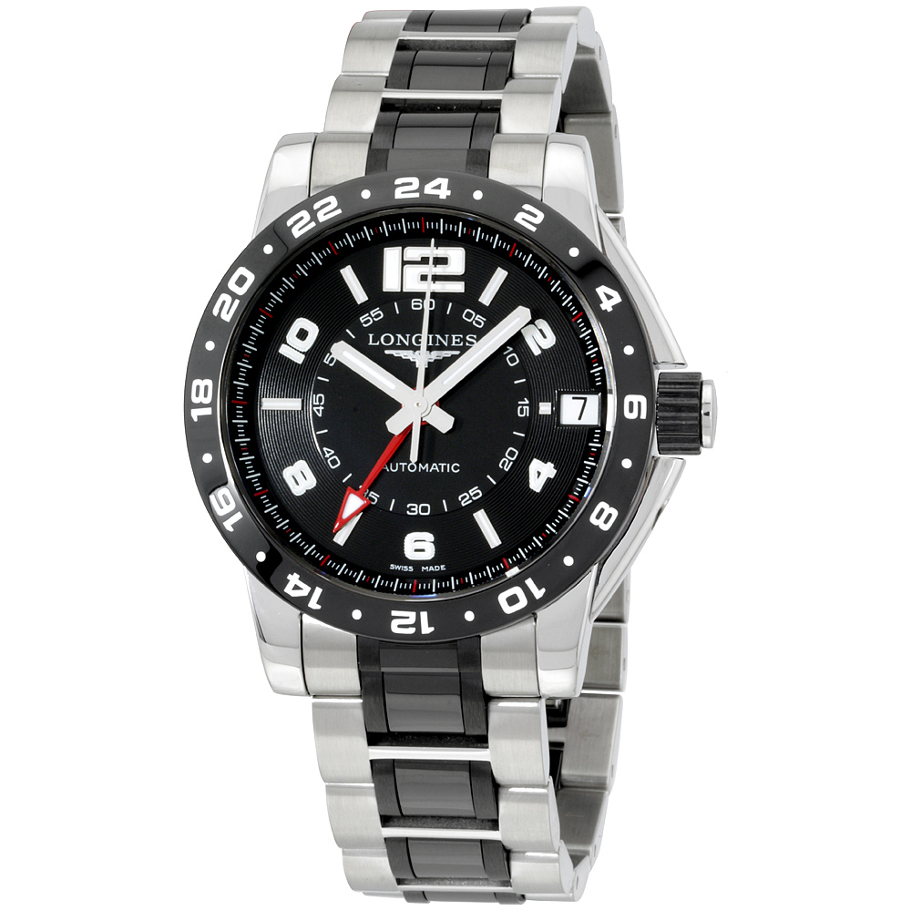 """Image of """"Longines Admiral L36694567 Stainless Steel Automatic 42mm Mens Watch"""""""