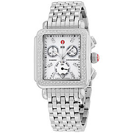 Michele Deco MWW06P000099 Stainless Steel & Mother of Pearl Dial 33mm Womens Watch