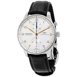 IWC Portuguese IW371445 Stainless Steel & Leather 41mm Watch