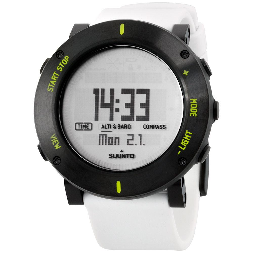 "Image of ""Suunto Ss020690000 Black PVD Coated Stainless Steel & Rubber Quartz"""