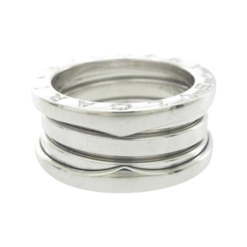 "Image of ""Bulgari B. Zero 1 18K White Gold Band Ring Size 5"""