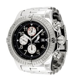 Breitling NHLPA Super Avenger A13370 Stainless Steel 48mm Mens Watch