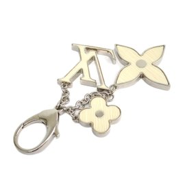 Louis Vuitton Silver Tone Metal Key Holder Ring