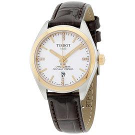 Tissot T1012512603600 Stainless Steel & Leather Quartz 33mm Unisex Watch