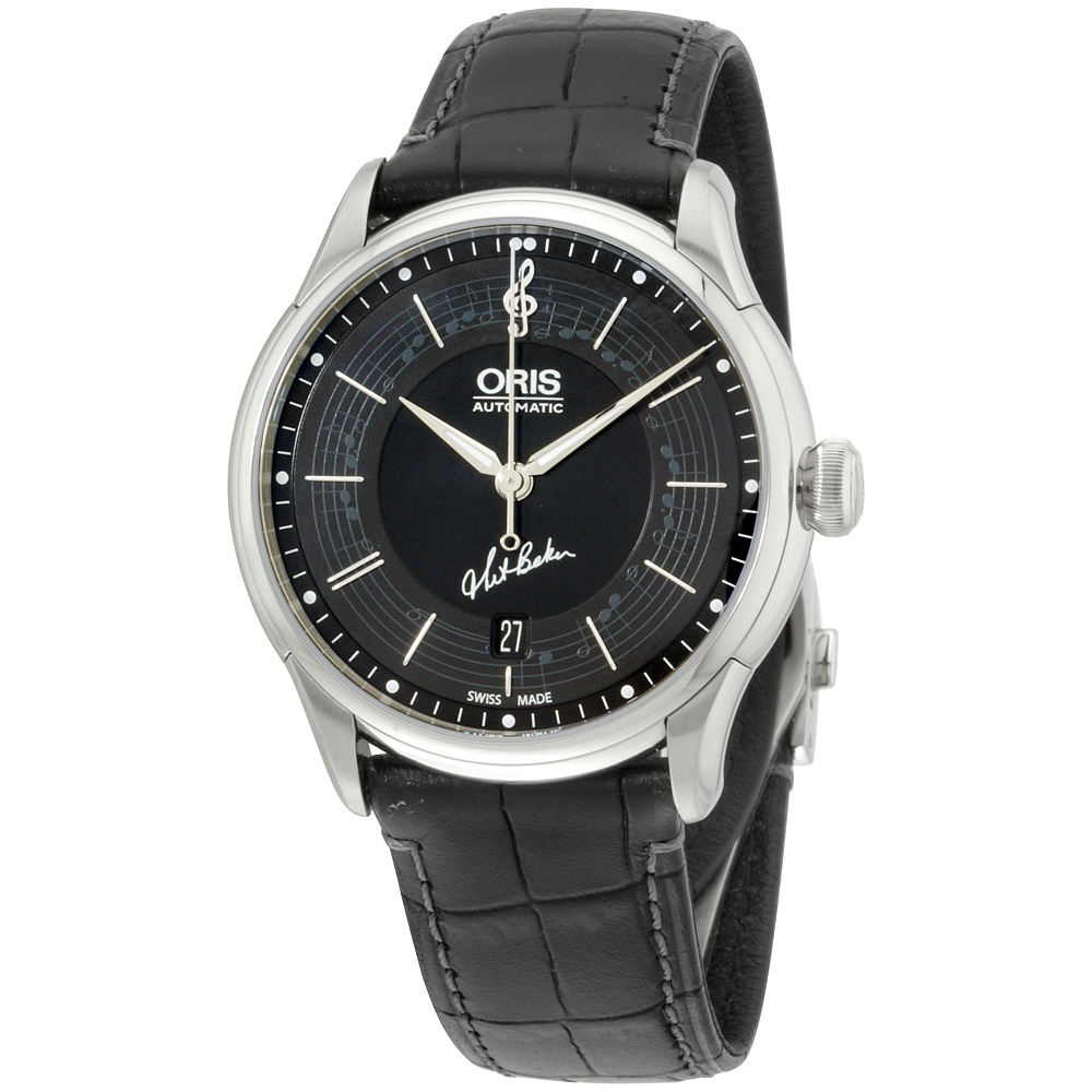 """Image of """"Oris Limited Edition 73375914084Setls Black Dial Stainless Steel 40mm"""""""