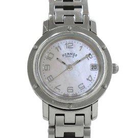 Hermes Clipper CL4 .210 Stainless Steel Quartz 24mm Womens Watch