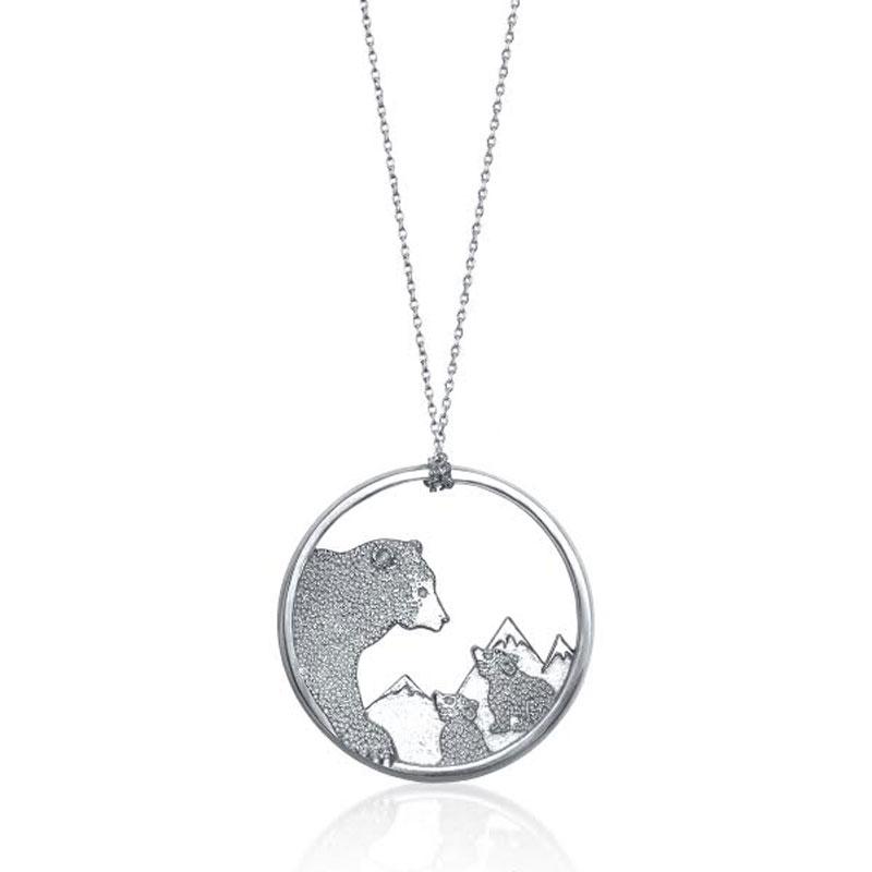 "Image of ""Alex Woo Disney Bears Necklace"""