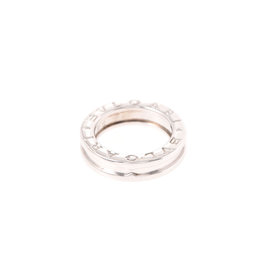 Bulgari B-Zero1 18K White Gold Band Ring Size 3.5