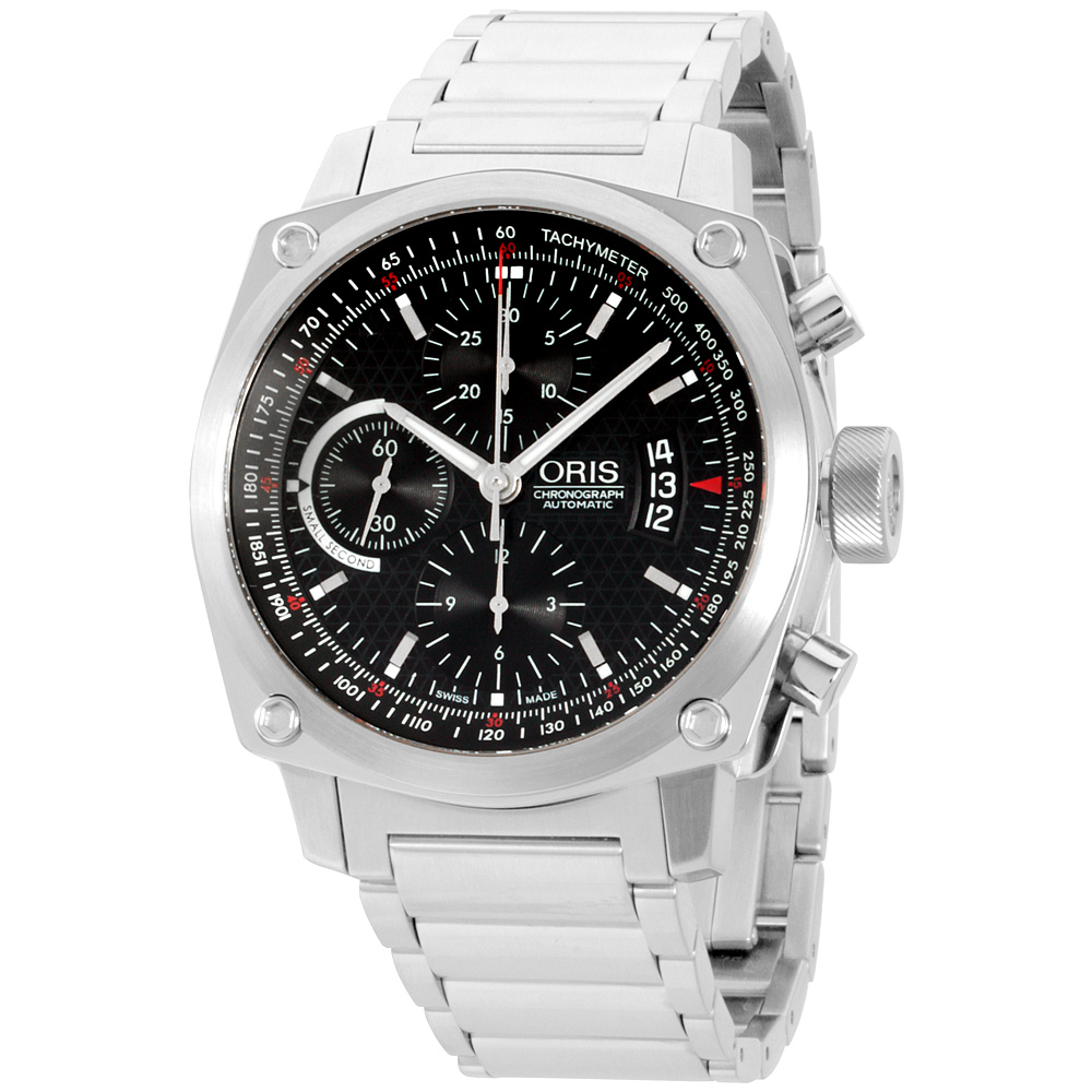 "Image of ""Oris BC4 67476164154Mb Stainless Steel Chronograph Automatic 42.7mm"""