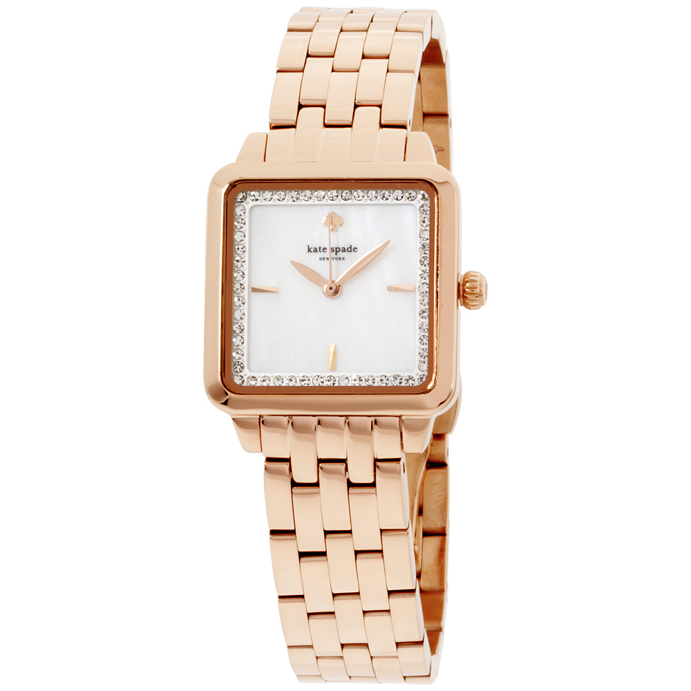 "Image of ""Kate Spade Ksw1132 Rose Gold Tone Stainless Steel Quartz 25mm Womens"""