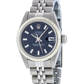 Rolex Datejust 79174 18K White Gold & Stainless Steel 26mm Watch