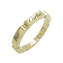 Cartier 18k Yellow Gold Maillon Panthere Ring Size 4.5
